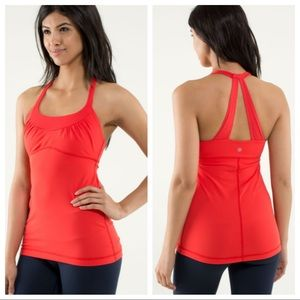 ▪️Lululemon▪️Scoop Me Up Tank - Love Red
